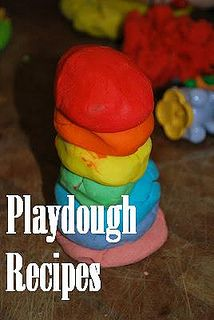 Over 30 Different Playdough Recipes with tons of variuations- Familylicious