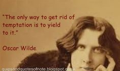 Quips & Quotes Of Note: Oscar Wilde [10]
