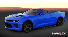 In the wonderful world of all-American pony and muscle cars, the 2016 Chevrolet Camaro is the fuzz right now. A little under a month from now on we will see the all-new generation of the Camaro debut in Detroit but until that moment comes, we're only left with a set of renderings.
