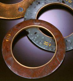 Celie Fago polymer channel bracelets (Large resolution picture provides great detail.)