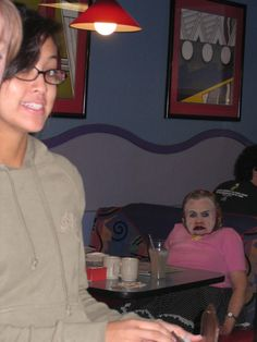 I totally forgot about this photo, it's been years. Seriously still the best photo bomb ever. Ever.