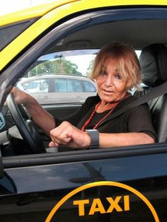 I can't believe it! A woman cab driver! - Humans of Latin America