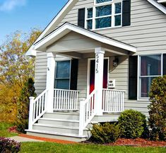 Breathtaking 30 Wonderful Small House Designs With Front Porch Https Goodsgn