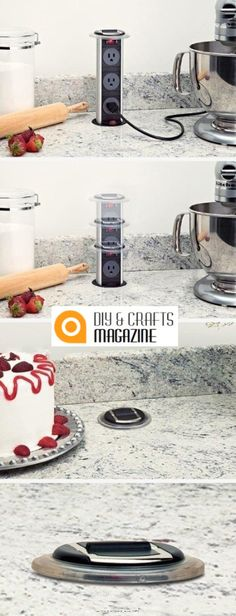 You will upgrade your kitchen just in one step with these portable sockets