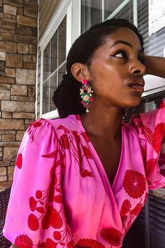 The ONE accessory I never leave home without, they complete my look, earrings. Featuring some of the seasons prettiest pieces. Black Girl Fashion, Fashion Looks, Women's Fashion, Fashion Tips, J Crew Baby, Simple Outfits, Summer Outfits, Girl Style, Fashion Bloggers