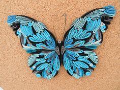 Quilling / Schmetterling Nr.3