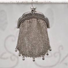 Antique Sterling Silver 19th Century Chain Mail by DanetteDarbonne