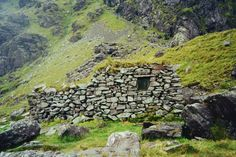 Stone shelter on Carrauntoohil, the highest peak in Ireland. Contributed by Aksel Nichols.