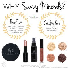 Savvy Minerals Makeup - a new safe option!
