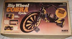 Big Wheel Cobra Cycle.  I had this!!