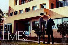 """Modern Times"" : Natalia Vodianova : US Vogue May 2012 : Craig McDean"