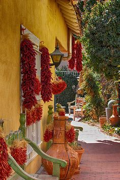 Beautiful Old Albuquerque New Mexico. I love these colrs. Now how do I get them in my kitchen?