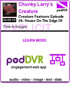 #UNCAT #PODCAST  Chunky Larry's Creature Features - Geeks of the Industry    Creature Features Episode 58: House On The Edge Of The Park    READ:  https://podDVR.COM/?c=5b5b7e06-94f2-e770-141f-a6fc4bc337a4