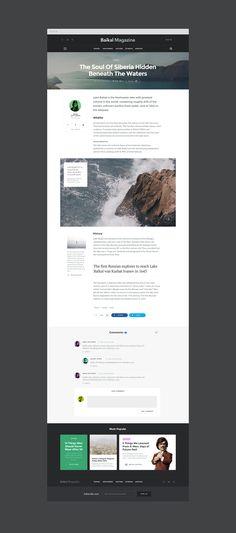 Baikal sample magazine article