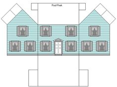 Jims Printable Minis - Loads of printables for little houses - this is a dollhouse for a dollhouse!