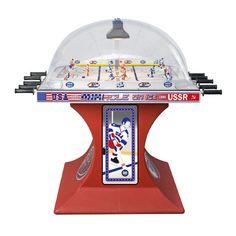 {will have this someday} Custom made bubble hockey tables! (aka the foosball of hockey)
