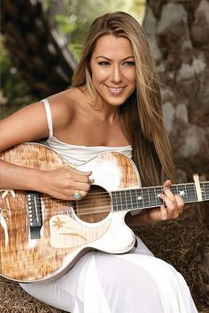 Colbie Caillat, absolutely beautiful.  Her music is amazing.