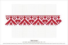 Semne Cusute: Romanian traditional motifs Folk Embroidery, Embroidery Patterns Free, Beading Patterns, Stitch Patterns, Cross Stitch Boards, Simple Cross Stitch, Pixel Art, Folk Art, Needlework