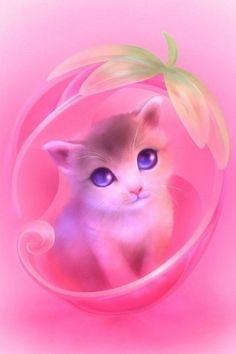 Cute Little Animals Illustrations by Shuichi Mizoguchi Tier Wallpaper, Animal Wallpaper, Screen Wallpaper, Cute Animal Drawings, Kawaii Drawings, Cute Kittens, Cats And Kittens, Cute Little Animals, Anime Animals