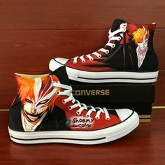 Painted Flash Shoes Custom Painted Mens Converse The Flash Converse ... 805caa0c3