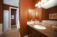 WestViews Builders | Highwood Villas | Calgary | Bathroom Calgary, Villas, Bungalow, Mirror, Bathroom, Luxury, Furniture, Home Decor, Bath Room