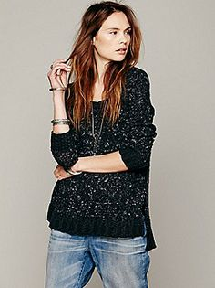 857213d31039f Free People Honeycomb Mix Pullover at Free People Clothing Boutique
