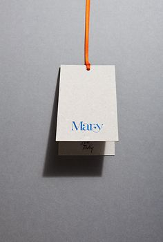 Swing Tags - Design & production