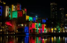 See Old Town in different light as huge coloured drawings, inspired by the works of the great artists Joan Miro, Picasso and Mondrian convert the surrounding walls of Burj Plaza into a massive canvas of art and creativity. — at Downtown Dubai - The Centre of Now.