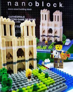 파리#노트르담대성당 #paris#cathedrale#notredame  #나노블럭#nanoblock #lego#minifigure#season4#8804  #레고#미니피규어#시즌4#화가 #주말#일상#취미#weekend#hobb