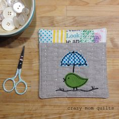 crazy mom quilts: sweet tweets 107