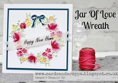 Jar of love wreath