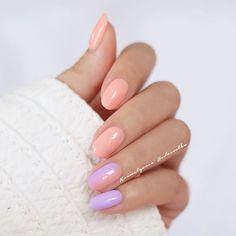 Takie koktajlowe wyszły Kolorki to NeoNail Peach Rose i Plumeria Scent  ------ Wrzucajcie zdjęcia swoich mani z hashtagiem #hedonistkanails i @kosmetycznahedonistka  Chętnie wpadnę do Was i zostawię serduszko  Miłego dnia! #neonail #peach #pastels #nails #nail #nailart #nailswag #nailpolish #almondnails #inspo #naildesign #nailporn #hybrid #hybrydy #paznokcie #blogger #beauty #nailstagram #nails2inspire #paznokcie