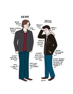 This is true. Looking back on the Dean episodes, I feel that he was a big jerk…