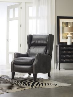 #grey - Gorgeous in Grey is the Vesta Recliner from #bradington_young
