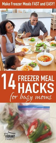 Freezer meals are a LIFESAVER for busy moms. Get 14 amazing tips from a freezer meal making expert on how to make them fast and…