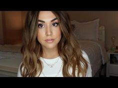 Perfect Beachy Waves Tutorial - YouTube