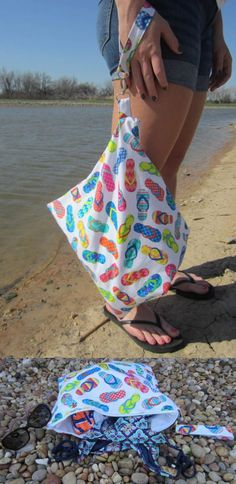 Need a way to keep work-out clothes or swim suits from getting everything else wet? This DIY Wet Bag can hold all your gear and keep it contained so the rest of your items stay dry and smelling fresh!