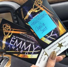 Haley Emmy Tickets! Good Luck!