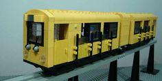 LEGO Berlin UBahn U1 - U3 Monorail by Brucewaynelego on Flickr