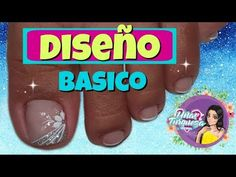 ♥Diseño de uñas para pies en blanco/♥uñas paso a paso/uñas principiantes - YouTube Toe Nail Art, Toe Nails, Cotton Candy Nails, Beautiful Toes, Youtube, Enamel, Nail Bling, Designed Nails, Toenails Painted