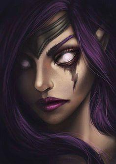 Morgana League of Legends Morgana League Of Legends, Champions League Of Legends, Lol Champions, League Of Legends Characters, Cute Characters, Fantasy Characters, Female Characters, Dark Fantasy, Fantasy Art