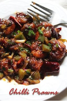 This is like the best prawn dish i ever tasted and ever made.It is like mouthwateringly good. Similar Recipes, Spicy Prawn Roast . Veg Recipes, Spicy Recipes, Curry Recipes, Easy Healthy Recipes, Seafood Recipes, Indian Food Recipes, Asian Recipes, Cooking Recipes, Chinese Prawn Recipes