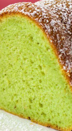 Pistachio Pudding Bundt Cake ~ Truly tender and delicious... Adding pistachio pudding to cake mix transforms something average into something amazing.