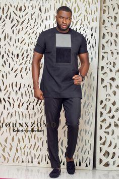 Smart Looking Senator Wears For Nigerian Men African Wear Styles For Men, African Shirts For Men, African Dresses Men, African Attire For Men, African Clothing For Men, African Style, African Clothes, African Women, Nigerian Men Fashion