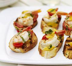 Shrimp Bruschetta #myplate #grill #seafood