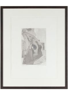 """25463- Rob Delamater, 2012, Monotype on Paper, 21""""x26"""" Framed - $535  #Abstract"""