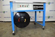 Revolution Table Top Strapping Machine (NEW - Heavy Duty Machine)     #RevolutionTTStrappingMachine #RevolutionStrappingMachine
