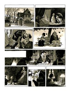French comics artist, Creative director in a video game company (Ubisoft). Comics Illustration, Illustrations, Comic Books Art, Book Art, Comic Frame, Comic Layout, Graphic Novel Art, Comic Book Panels, Sacre