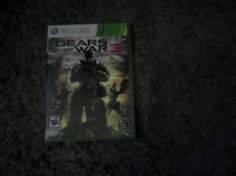 X box 360 Gears of War III