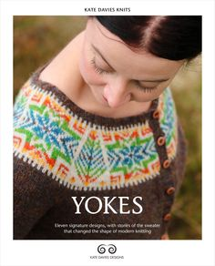 Kate Davies Designs Just recieved this book can't wait to try some of the patterns. I've never done a steek!